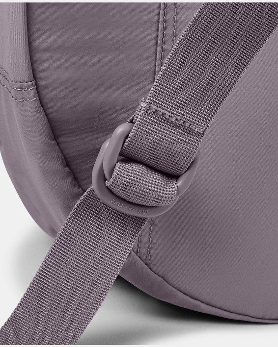 Women's UA Midi Backpack 2.0, Purple, pdpMainDesktop image number 4
