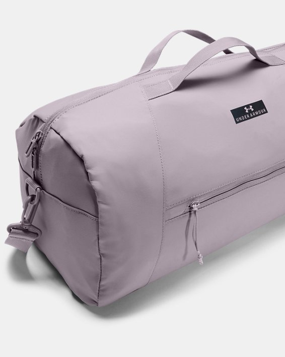 Women's UA Midi Duffle, Purple, pdpMainDesktop image number 3