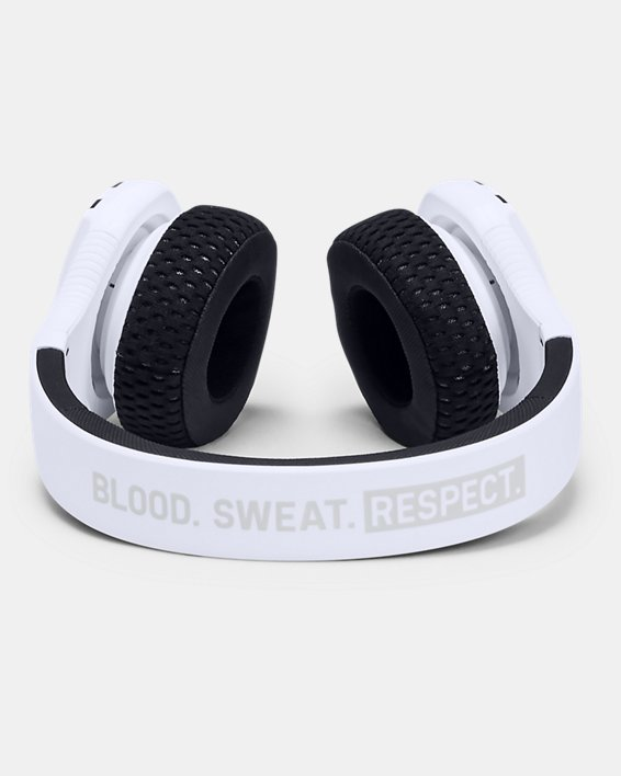 언더아머 Under Armour UA Sport Wireless Train — Project Rock Edition Headphones,White / Black / Black - 100