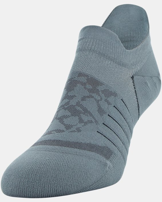 Women's UA Breathe No Show Tab – 3-Pack Socks, Black, pdpMainDesktop image number 2