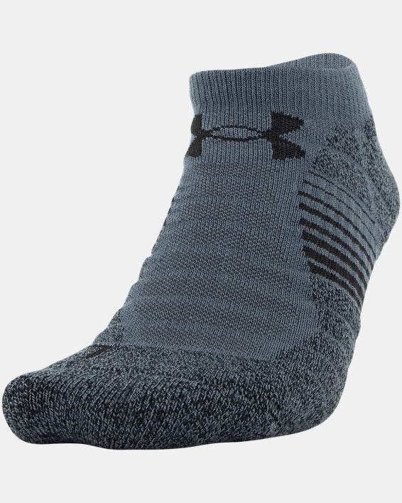 Men's UA Elevated Performance No Show  – 3-Pack Socks, Gray, pdpMainDesktop image number 1