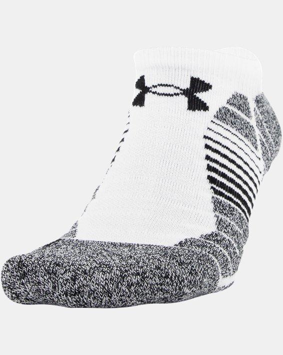 Men's UA Elevated Performance No Show  – 3-Pack Socks, Gray, pdpMainDesktop image number 2
