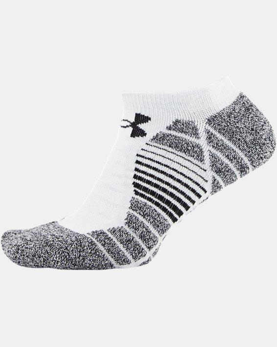 Men's UA Elevated Performance No Show  – 3-Pack Socks, Gray, pdpMainDesktop image number 7