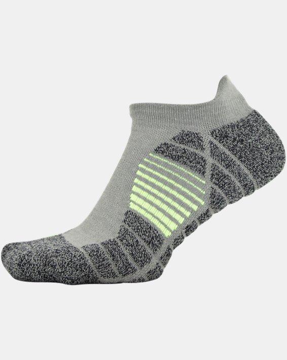 Men's UA Elevated Performance No Show  – 3-Pack Socks, Gray, pdpMainDesktop image number 8