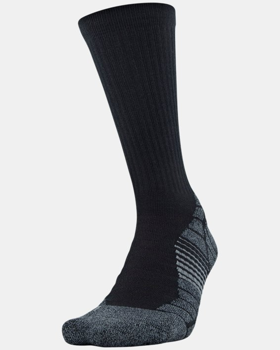 Men's UA Elevated Performance Crew  – 3-Pack Socks, Gray, pdpMainDesktop image number 1