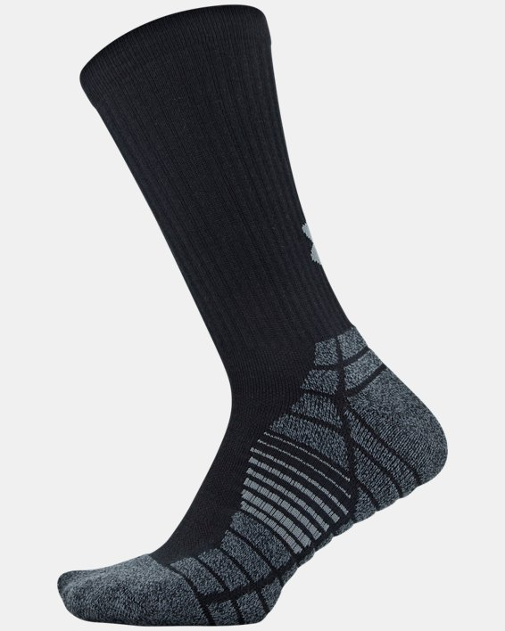 Men's UA Elevated Performance Crew  – 3-Pack Socks, Gray, pdpMainDesktop image number 10