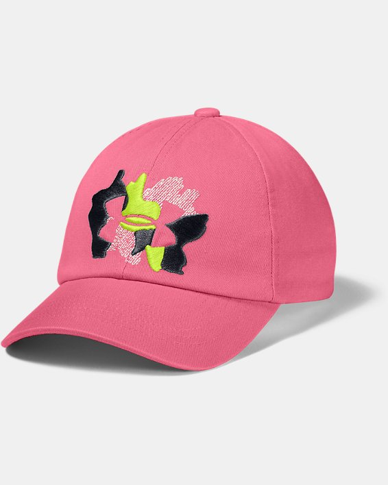 Girls' UA Sparkle Cap, Pink, pdpMainDesktop image number 0