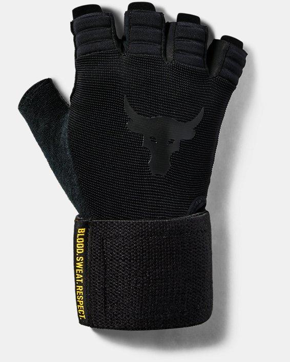 Men's Project Rock Training Glove, Black, pdpMainDesktop image number 0