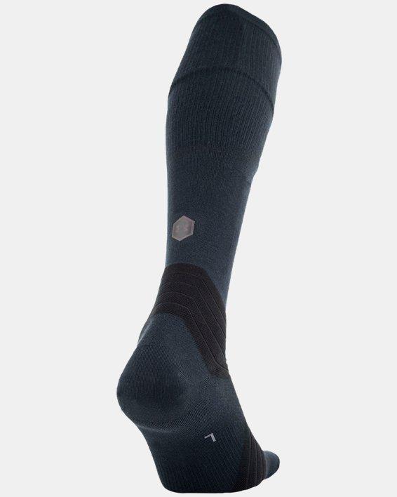 UA RUSH™ Over-The-Calf Socks, Black, pdpMainDesktop image number 2