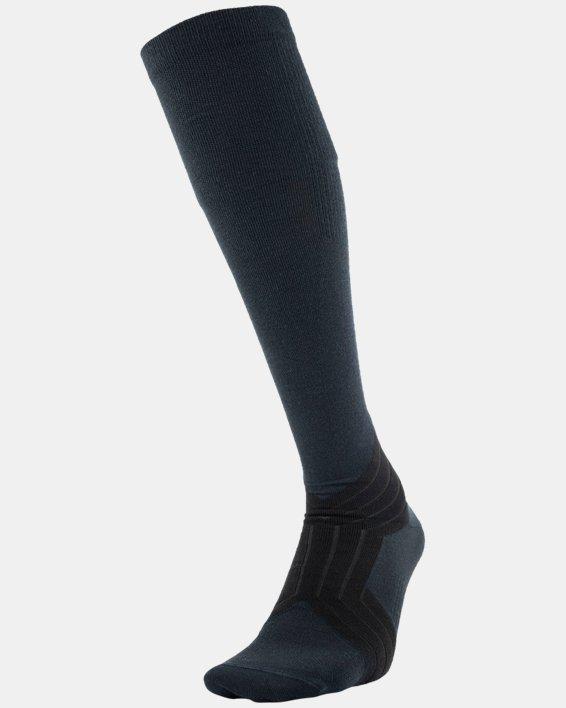 UA RUSH™ Over-The-Calf Socks, Black, pdpMainDesktop image number 1
