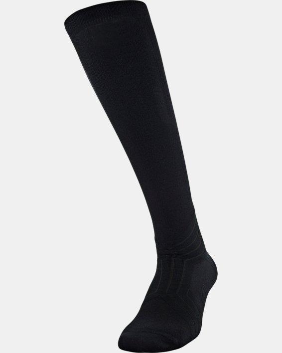 UA RUSH™ Over-The-Calf Socks, Black, pdpMainDesktop image number 0