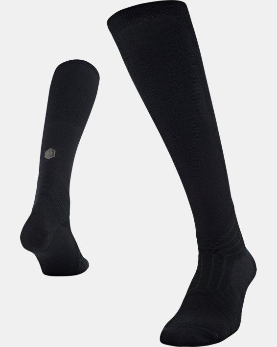 UA RUSH™ Over-The-Calf Socks, Black, pdpMainDesktop image number 4