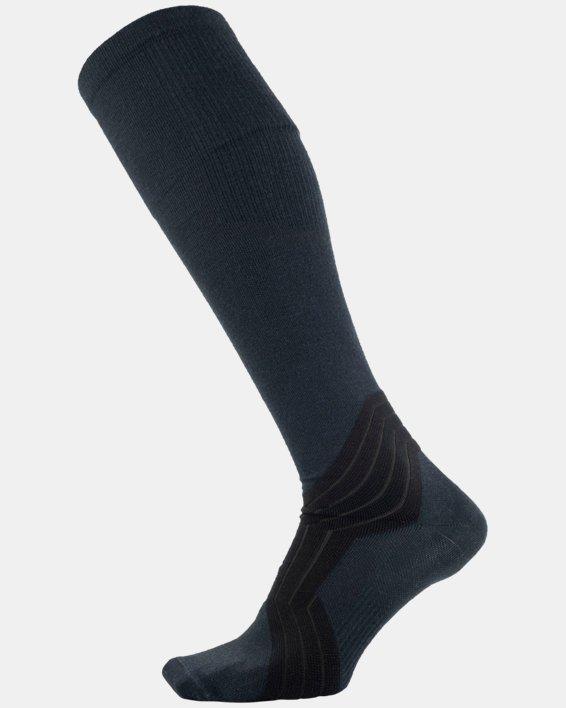 UA RUSH™ Over-The-Calf Socks, Black, pdpMainDesktop image number 3