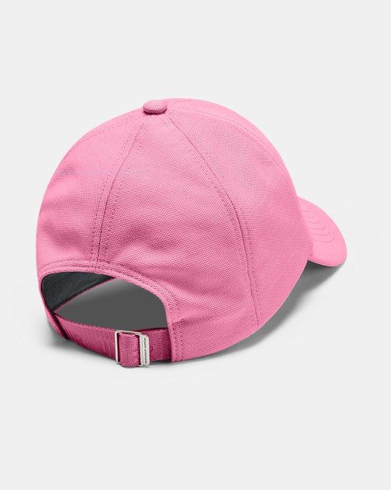 Women's UA Play Up Heathered Cap, Pink, pdpMainDesktop image number 1