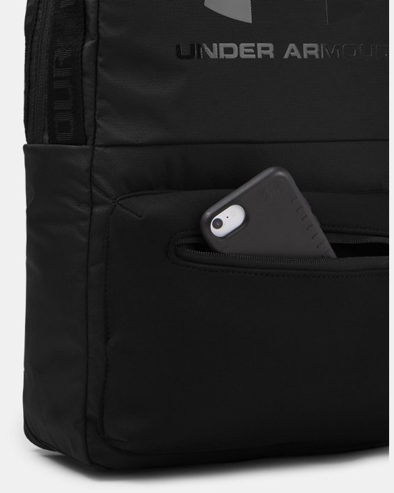 UA Loudon Lux Backpack, Black, pdpMainDesktop image number 4