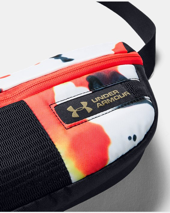 UA Upstream Camo Waist Bag, Black, pdpMainDesktop image number 3
