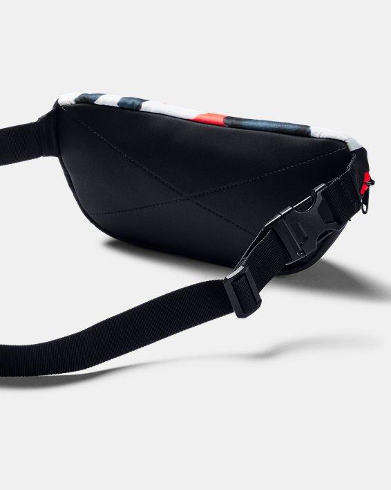 UA Upstream Camo Waist Bag, Black, pdpMainDesktop image number 2