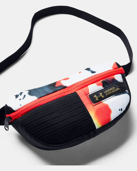 UA Upstream Camo Waist Bag, Black, pdpMainDesktop image number 1