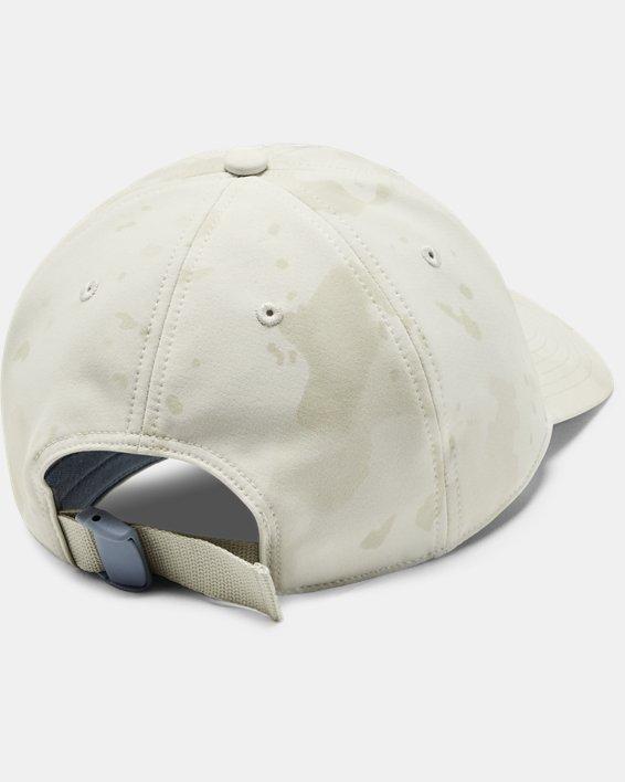 Unisex UA Upstream Camo Free Fit Cap, White, pdpMainDesktop image number 1