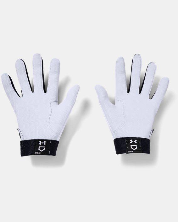 Women's UA Radar Batting Gloves, Black, pdpMainDesktop image number 1