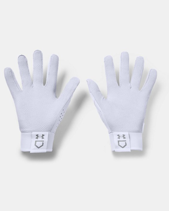 Men's UA Yard Batting Gloves, White, pdpMainDesktop image number 1