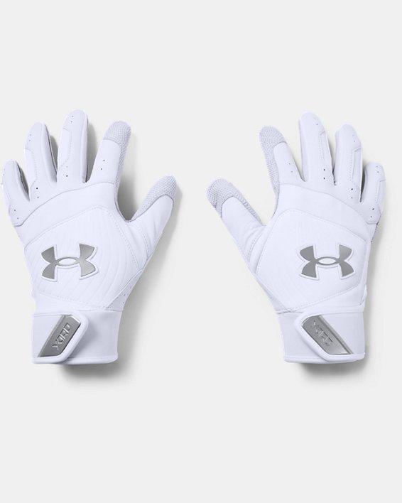 Men's UA Yard Batting Gloves, White, pdpMainDesktop image number 0
