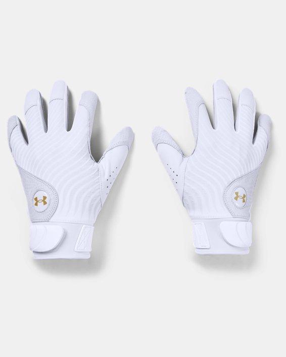 Men's UA Harper Pro Batting Gloves, White, pdpMainDesktop image number 0