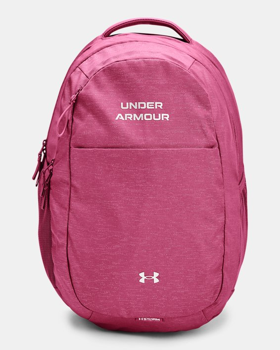 Women's UA Hustle Signature Backpack, Red, pdpMainDesktop image number 0