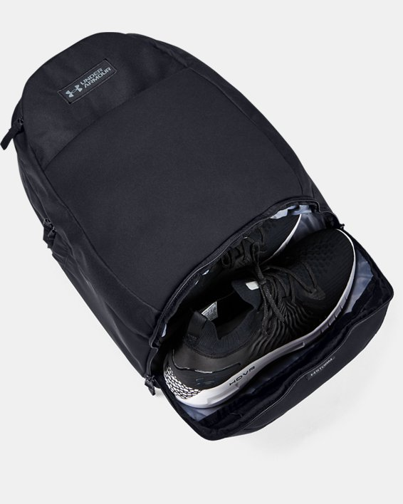 UA Recruit 3.0 Backpack, Black, pdpMainDesktop image number 4