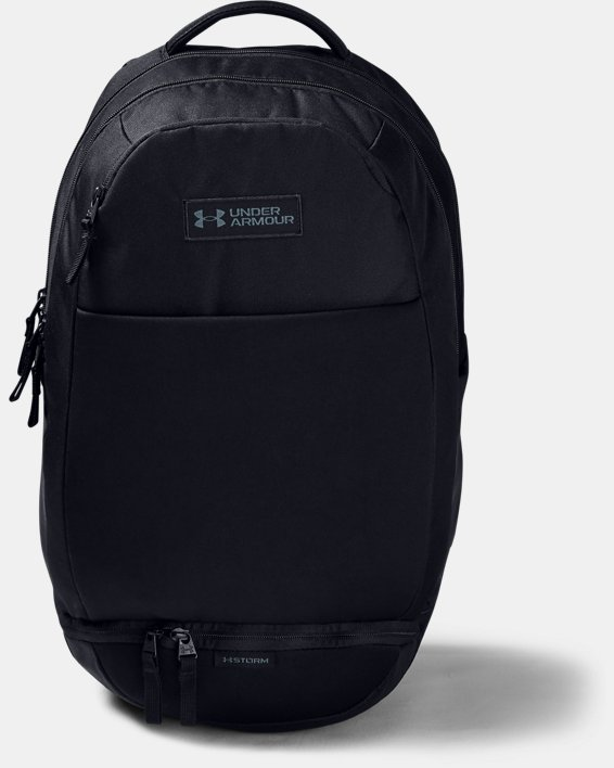 UA Recruit 3.0 Backpack, Black, pdpMainDesktop image number 1