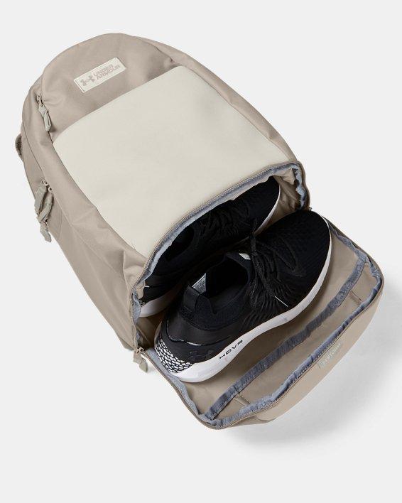 UA Recruit 3.0 Backpack, Brown, pdpMainDesktop image number 4