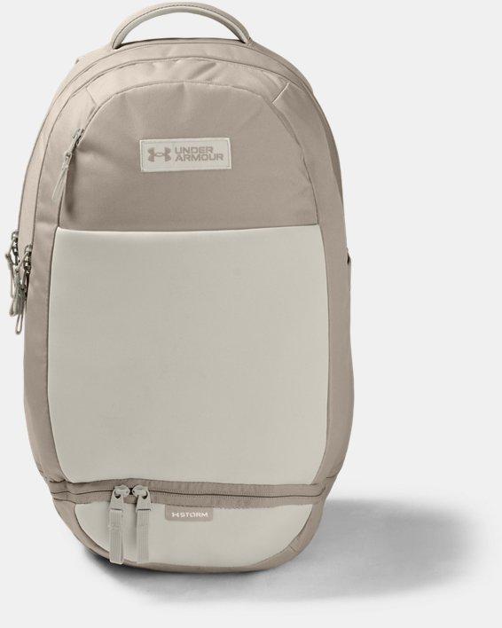 UA Recruit 3.0 Backpack, Brown, pdpMainDesktop image number 1