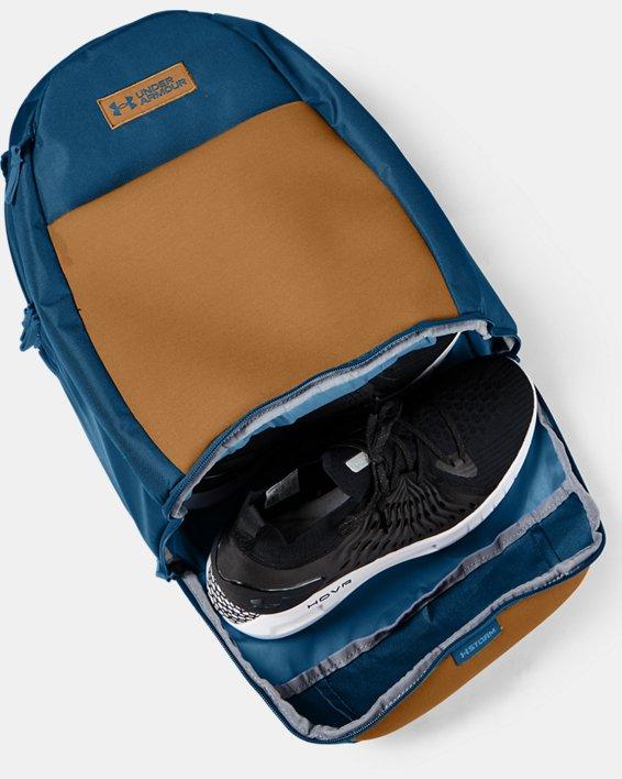 UA Recruit 3.0 Backpack, Blue, pdpMainDesktop image number 3