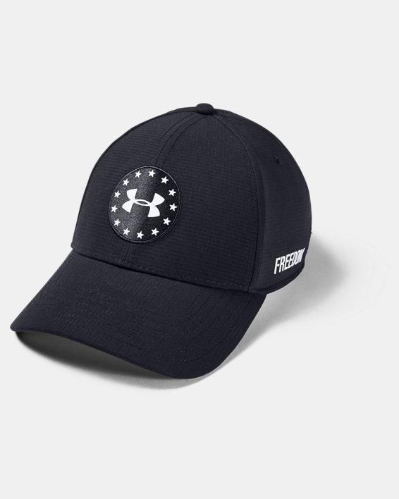 Men's UA JS Memorial Day Cap, Black, pdpMainDesktop image number 0