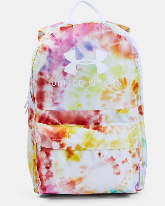 UA Pride Loudon Backpack, White, pdpMainDesktop image number 0