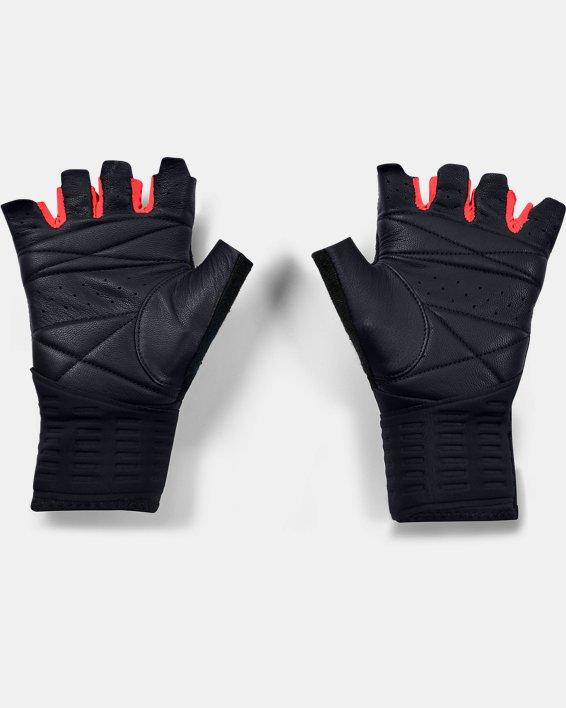 Men's UA Graphic Weightlifting Gloves, Black, pdpMainDesktop image number 1