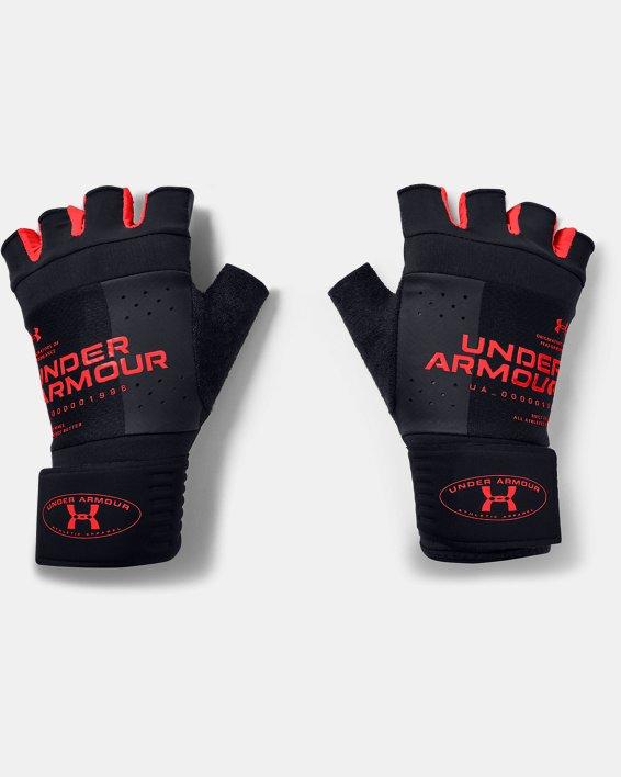 Men's UA Graphic Weightlifting Gloves, Black, pdpMainDesktop image number 0