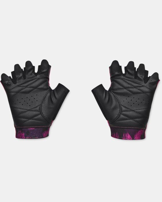 Women's UA Graphic Training Gloves, Red, pdpMainDesktop image number 1