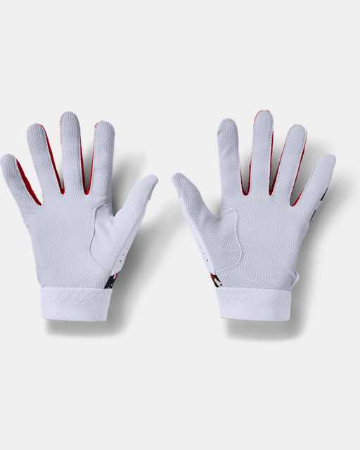 Youth UA Clean Up Culture Batting Gloves