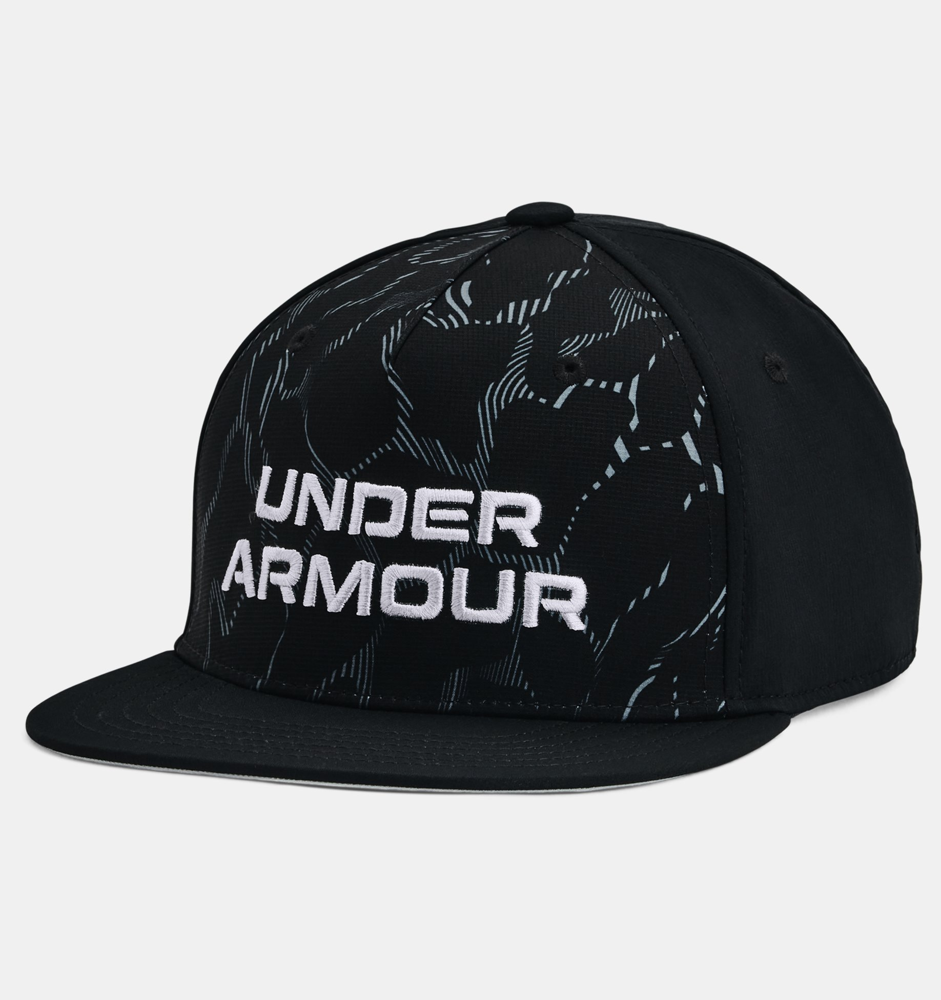 Underarmour Boys UA Printed Flat Brim Cap