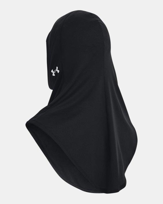 Hijab deportivo UA Extended para mujer, Black, pdpMainDesktop image number 2