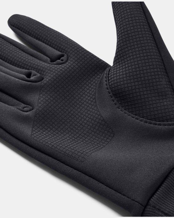 Men's UA Graphic Liner Gloves, Purple, pdpMainDesktop image number 2