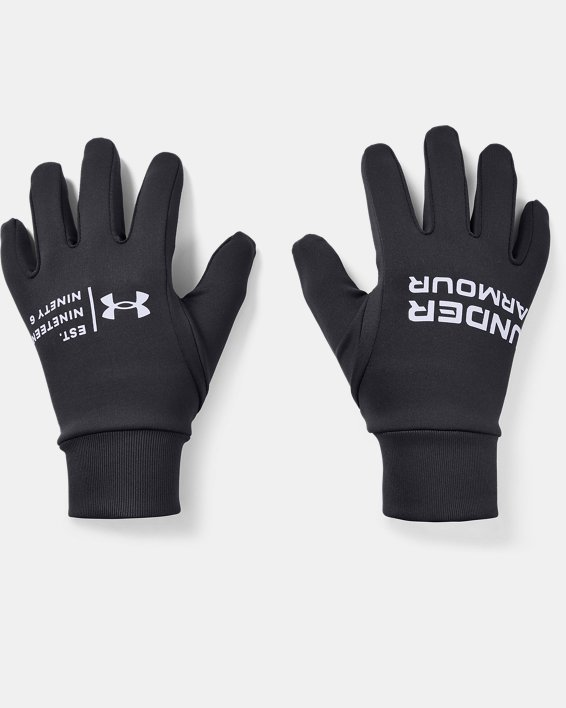 Men's UA Graphic Liner Gloves, Purple, pdpMainDesktop image number 0