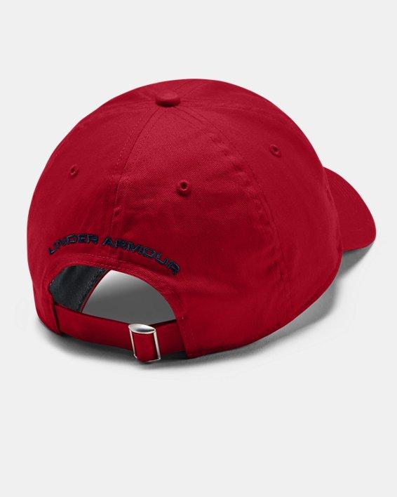 Men's UA Adjustable USA Cap, Red, pdpMainDesktop image number 1