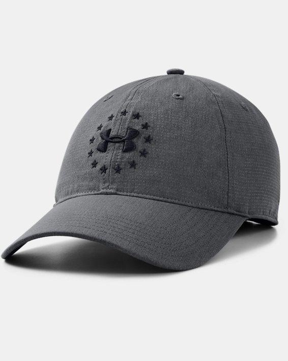 Men's ADJ Freedom Cap, Gray, pdpMainDesktop image number 0