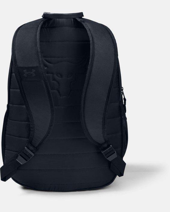 언더아머 프로젝트 락 백팩 Under Armour Project Rock Brahma Backpack,Black / Black / White - 001