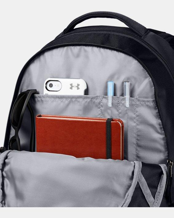 UA Hustle 5.0 Backpack, Black, pdpMainDesktop image number 2