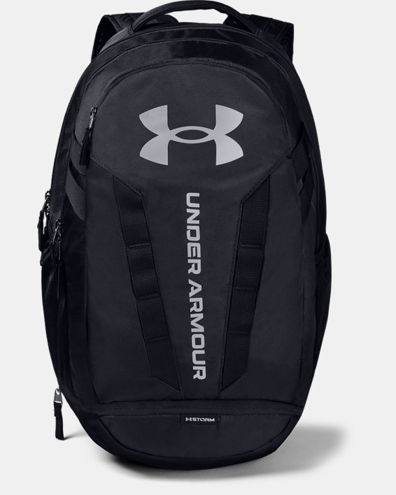 UA Hustle Backpack, Black, pdpMainDesktop image number 0