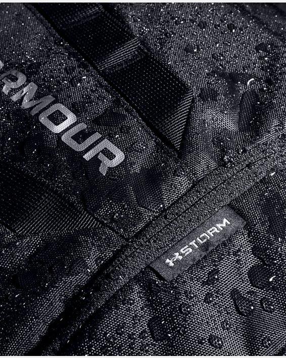 UA Hustle 5.0 Backpack, Black, pdpMainDesktop image number 6