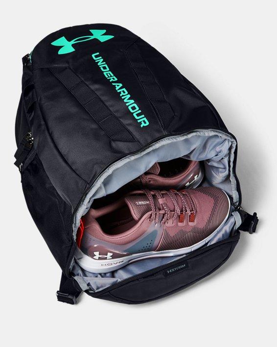 UA Hustle Backpack, Black, pdpMainDesktop image number 2